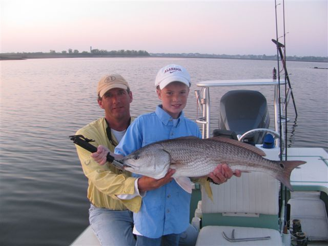 August 2010 headshaker charters for Charleston fishing charters