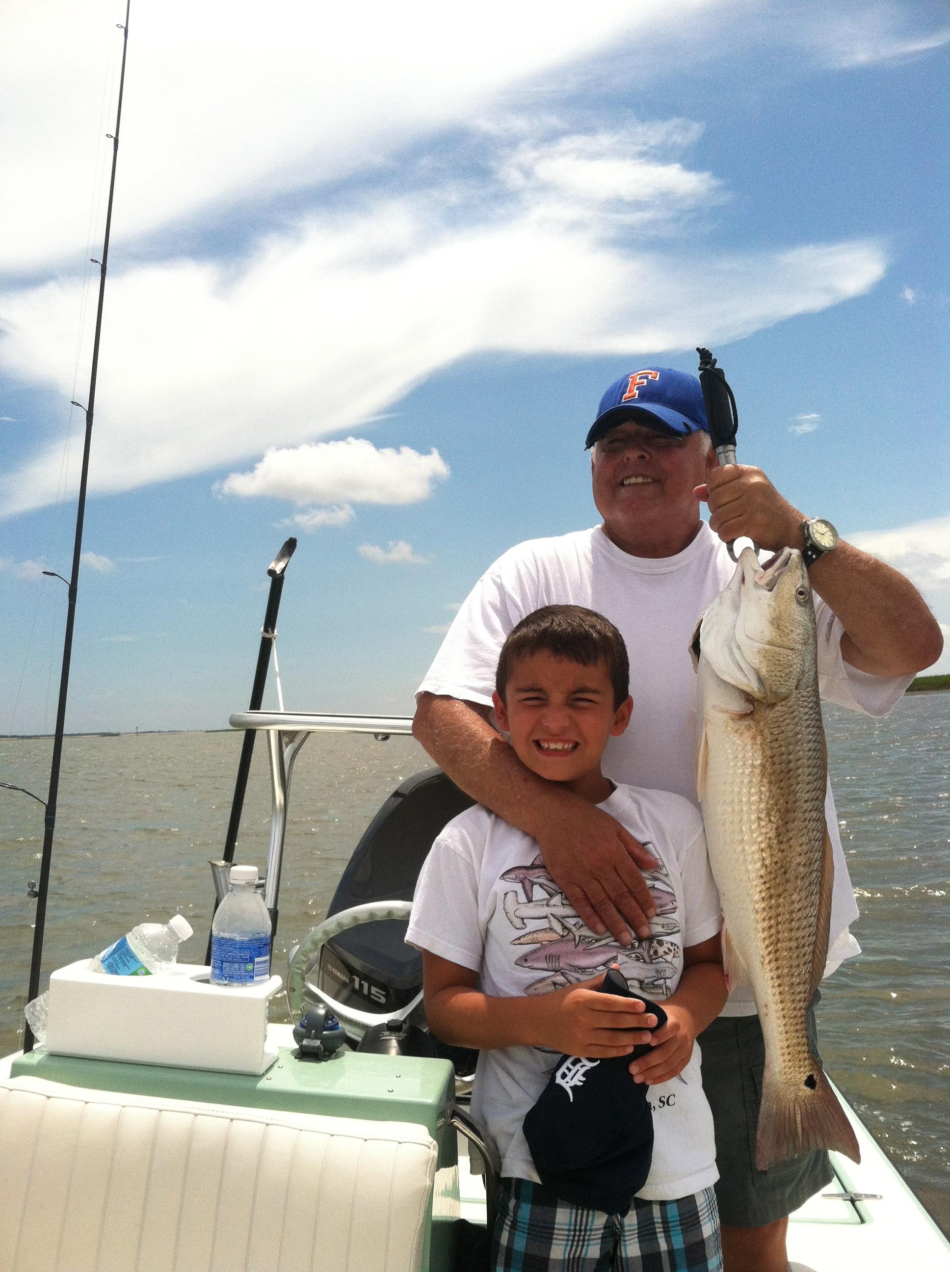 Charleston red fishing headshaker charters for Charleston fishing charters