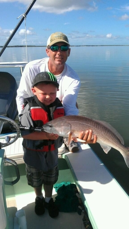 #2 (460x460) Capt. Legare Leland with youth angler, Isle Of Palms SC.
